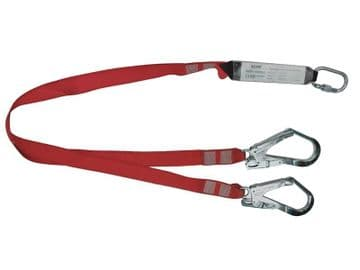 Fall Arrest Twin Lanyard 1.8m